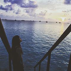 是…我的海…
