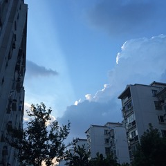 天气好~ 心情好~