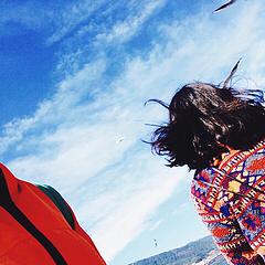 我喜欢你飞舞的头发