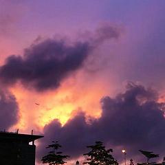 飞机飞过天空 天空之城  六月二十日·记