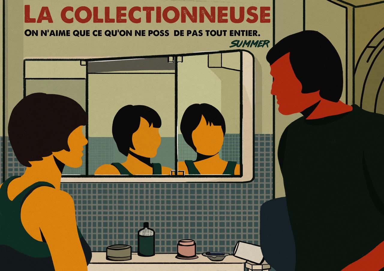 ▫️  La collectionneuse  ▪️