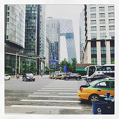 七月里凉爽的北京,足够幸运。
