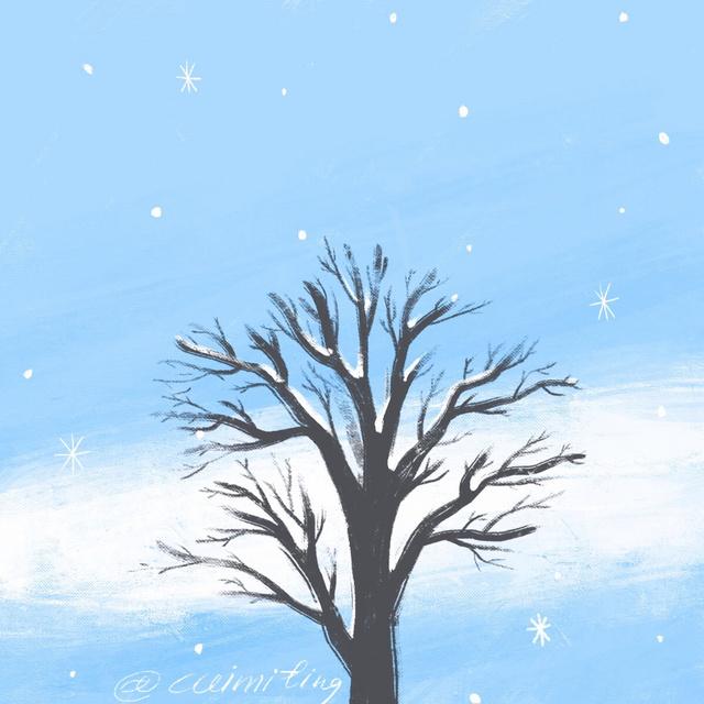 ❄️❄️雪花下吧下吧