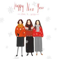 说声新年快乐~