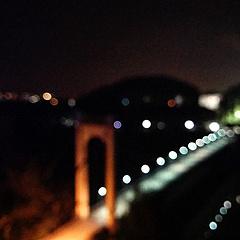 失焦,在城市的夜