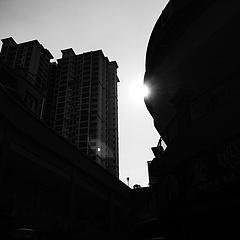 每天一张黑白照——阳光灿烂的日子