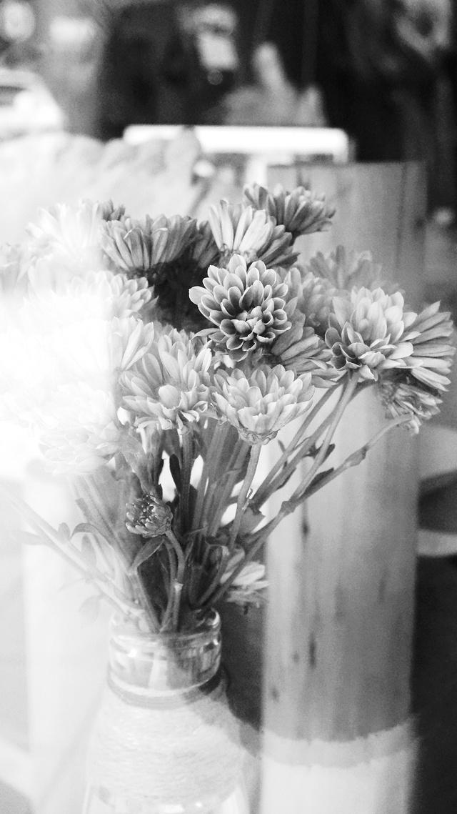 呐!给你一朵小花花!