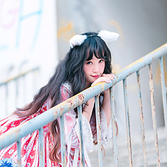 天台上 Lolita小姐姐甚是可爱