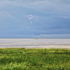 台风天 海边