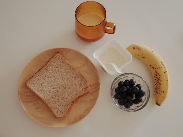 美好的早上从一顿营养早餐开始