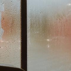 北京难得下大雨诶~