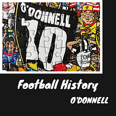 O'DONNELL  这面旗帜出现在2008年苏超凯尔特人队(Celtic)和马瑟韦尔队(Motherwell)联合举办的一场纪念赛中,而纪念和致敬的对象正是两队的传奇球员菲尔·奥唐奈(Phil O'Donnell)。   在2007年12月份的一场对阵邓迪联队(Dundee United)的比赛中, 马瑟韦尔35岁的老队长奥唐奈在被换下时突然倒地不省人事,送医后宣告不治身亡,成为又一起球员在球场上病发身亡的悲剧。  奥唐奈生涯大部分时间在苏超球队效力,虽然在国际赛场名气不高,但一直是马瑟韦尔队的传奇。 奥唐奈18岁时即代表马瑟韦尔队征战苏超,从90赛季踢到了94赛季。而后转会至凯尔特人,并效力到99年。其后转战谢菲尔德队,在2004年回归马瑟韦尔队后,作为队长效力至最后。  奥唐奈生涯的高光时刻正是在他18岁时,即在1991年苏格兰杯的决赛中攻入了他在顶级联赛的首球,并帮助马瑟韦尔队4:3赢得了他们迄今最后一个杯赛冠军,而决赛的对手正是邓迪联队。  奥唐奈仍是菲尔公园(Fir Park)球场的英雄,马瑟韦尔俱乐部以他的名字为球场的一片看台命名,来纪念自己的传奇。 · · · 码的好累.. 对于不熟的球员,查到资料并整理出来总是一种收获。 拼图拼好后摆在桌子上慢慢就变成了一块…台布? 说好了要一个个发出来,结果总忘,真是老年痴呆了🤷♀️