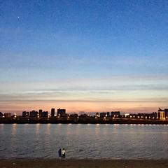 昨天的夕阳好美