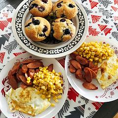 美好的一天從早餐開始~