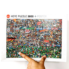 HEYE Puzzle - Football History